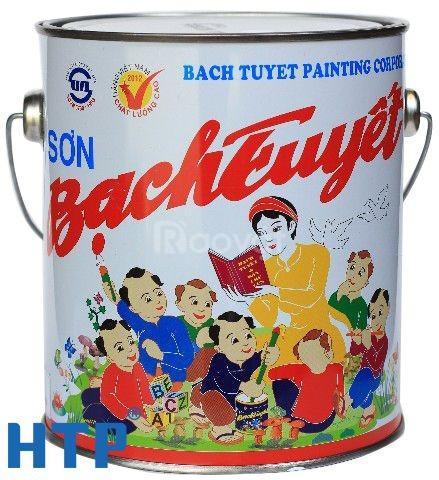 Cần mua sơn dầu Bạch Tuyết màu xám 122 giá rẻ cho công trình