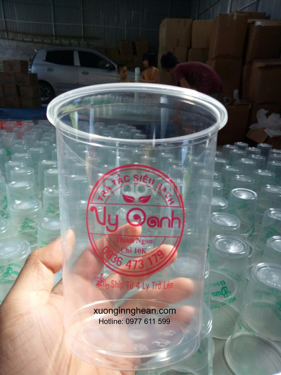 In ly nhựa trà sữa tại Nghệ An