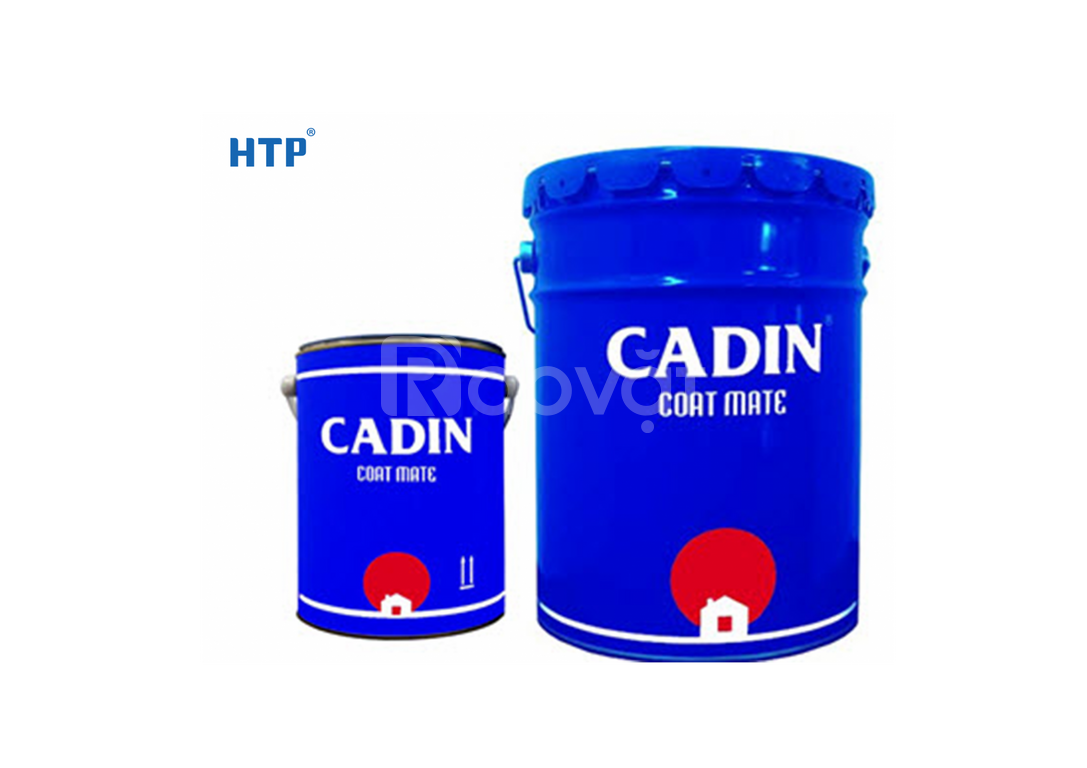 Bảng giá sơn dầu CADIN màu thường mới hiện nay