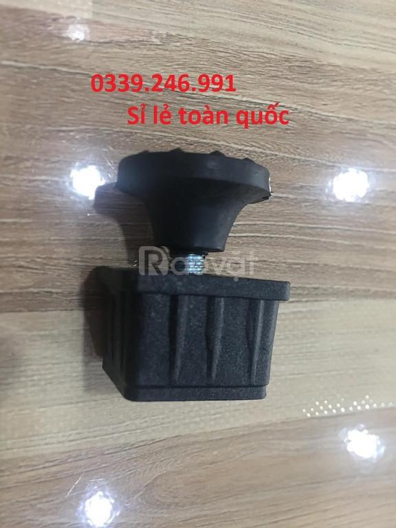 Nút nhựa bao ngoài chân ghế, móng đóng chân đầu sắt hộp, bịt nút nhựa (ảnh 4)