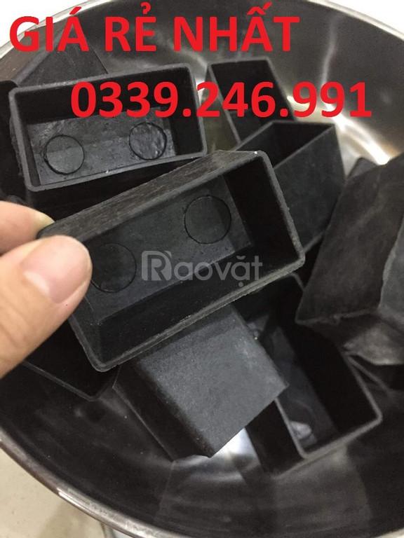 Nút nhựa bao ngoài chân ghế, móng đóng chân đầu sắt hộp, bịt nút nhựa (ảnh 6)