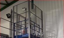 Thang nâng hàng nhà xưởng, thang nâng 500kg