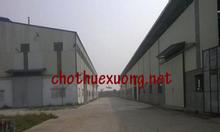 Cho thuê xưởng tại Thanh Liêm Hà Nam DT 2215m2 giá rẻ