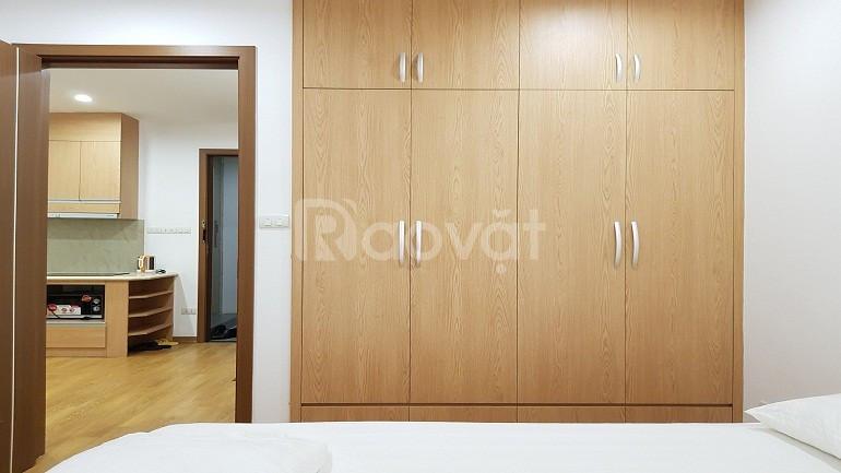 [ID: 444] Cho thuê căn hộ tại Trúc Bạch, 50m2, 1PN, nội thất mới