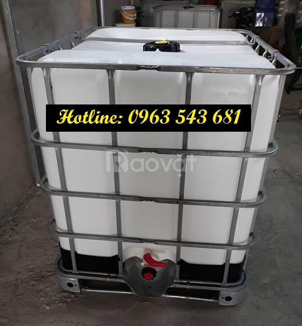 Chương trình giảm giá thùng cũ 1000 lít đựng hóa chất, bồn cũ 1000 lít