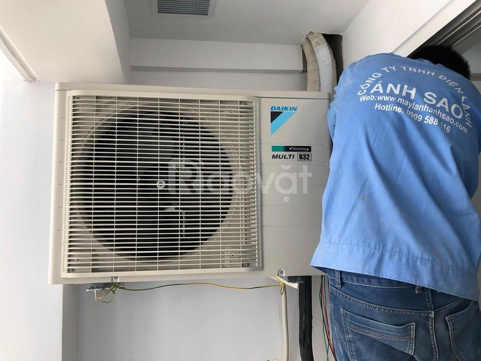 Dịch vụ lắp đặt máy lạnh Multi-S Daikin cho căn hộ Botanica Q.Tân Bình