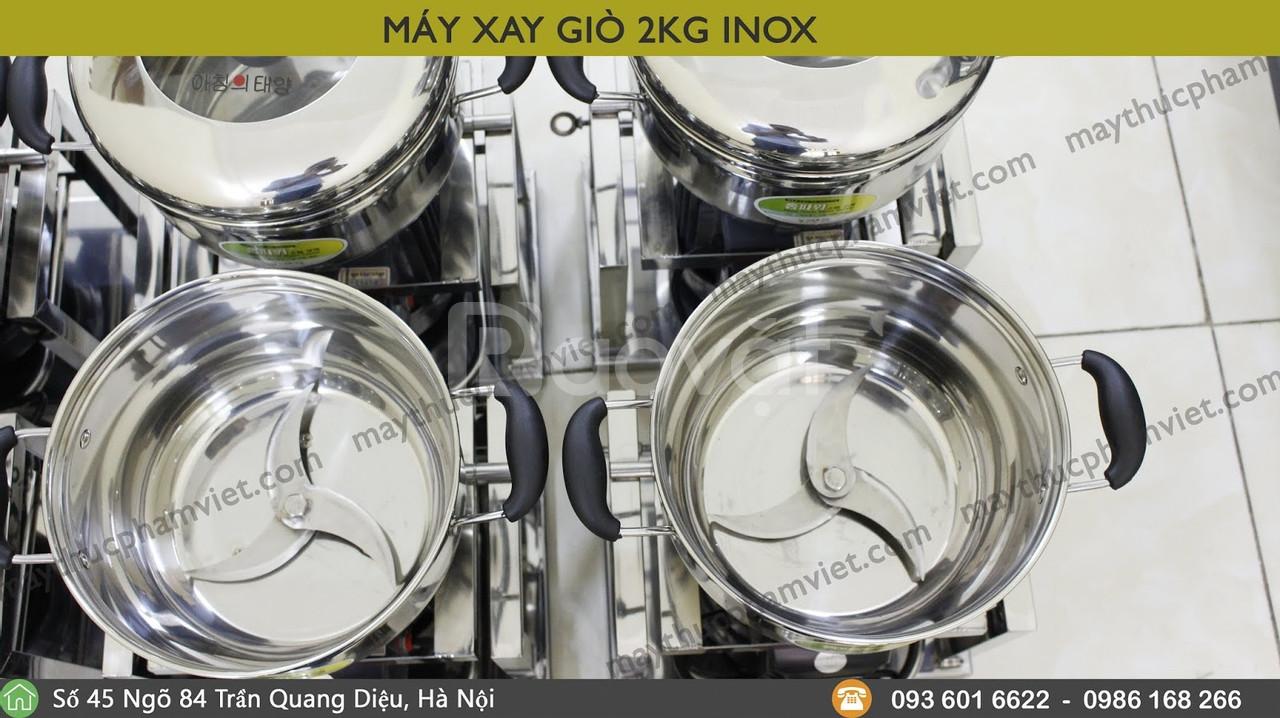 Máy xay ruốc thịt 2kg inox cho gia đình giá rẻ  (ảnh 4)