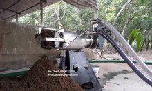 Máy tách ép phân mini cho các trang trại chăn nuôi lợn, bò