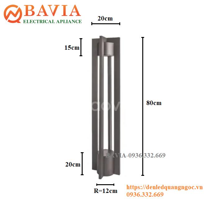 Đèn cột sân vườn BAVIA ML-SVT270