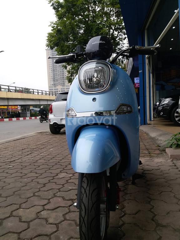 Xe máy điện Wuyang T2 kháng nước tuyệt đối