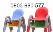Ghế nhựa đúc có tay vịn cho trẻ em