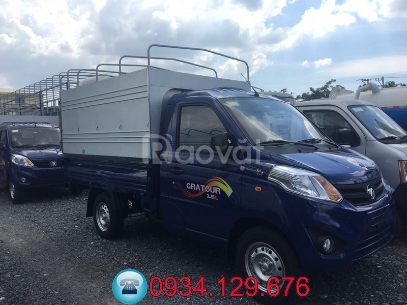 Mua bán xe tải Foton 990kg thùng dài 2.3 mét trả góp