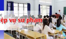 Khai giảng lớp đào tạo cấp chứng chỉ nghiệp vụ sư phạm nghề