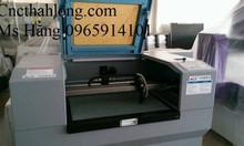 Máy laser cắt vải 2 đầu cắt giá rẻ, máy laser cắt vải 1610 – 2 đầu cắt