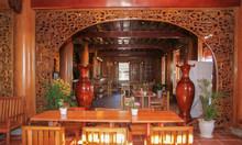Bán ngôi nhà sàn gỗ quý Đinh Hương 2 tầng lớn
