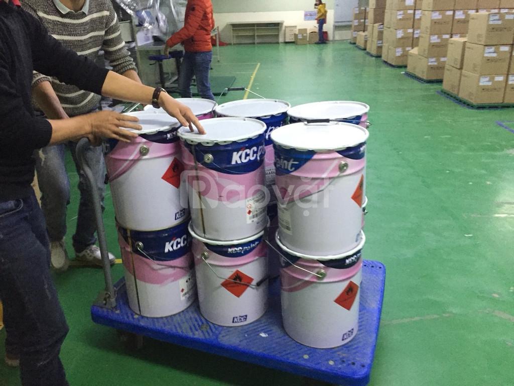 Phủ bóng sàn vinyl tại Bắc Ninh - Bắc Giang