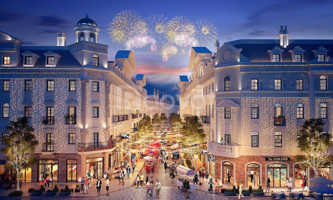 Bán trực tiếp CĐT bảng hàng mới Shophouse Europe