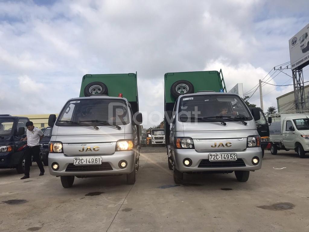 Xe tải chở rác mini jac 3.5 khối trả góp 80%