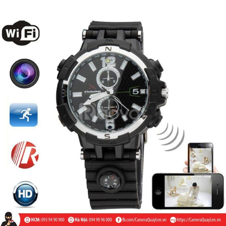 Camera ngụy trang đồng hồ  ip wifi xem trực tiếp trên điện thoại