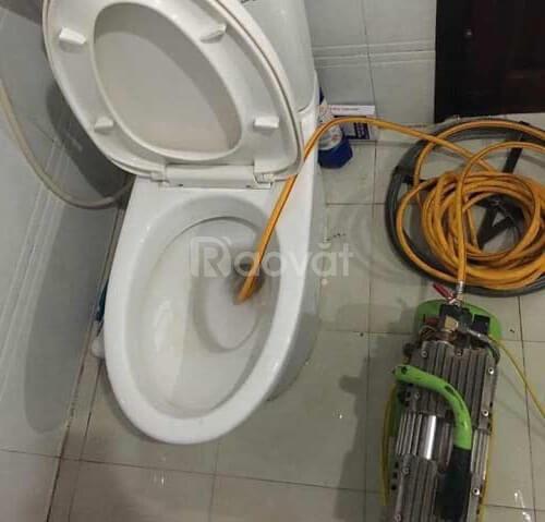 Dịch vụ thông tắc bồn cầu nhà vệ sinh giá rẻ Hà Nội