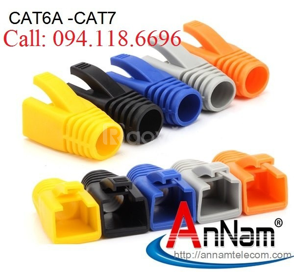 Đầu chụp mạng Cat6A-CAT7 chuyên dùng cho cáp mạng Cat6A