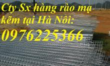 Lưới thép hàn D3, D4, D5, D6 Mạ kẽm
