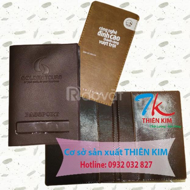 Cơ sở trực tiếp làm ví ép bằng da, làm ví đựng passport