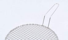 Vỉ nướng bếp âm bàn dạng lưới  inox 304  cao cấp đường kính 29.5cm