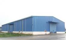 Cho thuê nhà xưởng Tân Phước Khánh, diện tích 1300m2, xưởng mới