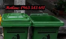 Thùng rác công cộng 120 lít, thùng rác y tế 240 lít, thùng rác y tế