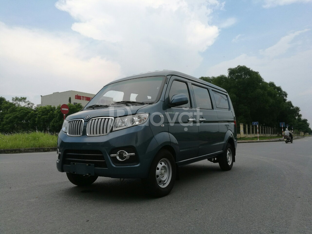 Xe tải van 5 chổ, không hạn chế giờ, Dongben tải van 2019, giá tốt