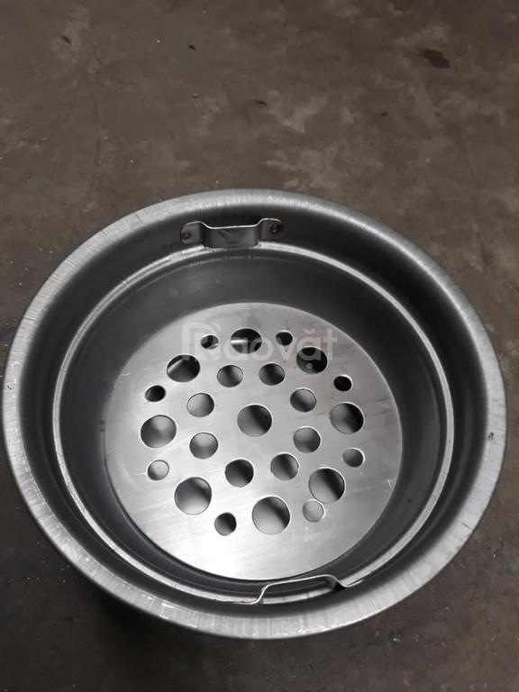 Bầu nướng than hoa inox cho bếp nướng âm bàn không khói Hàn Quốc