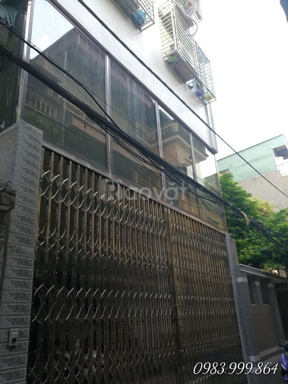 Bán tòa nhà chung cư mini 91m, 8t, thang máy Lương Thế Vinh 14,2 tỷ