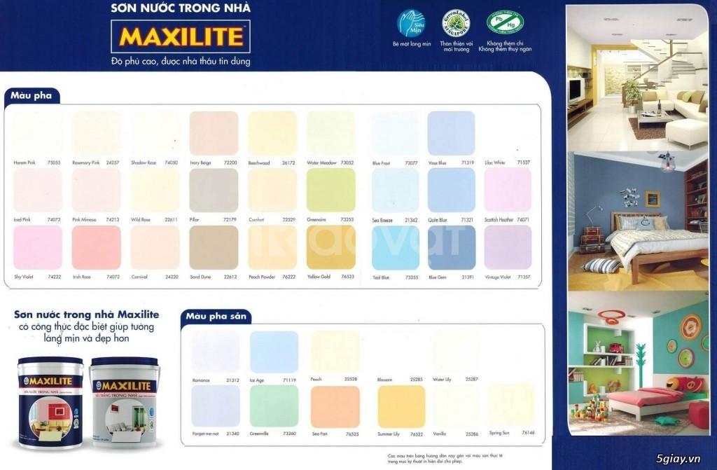 Đại lý bán sơn Maxilite ngoài trời A919 giá rẻ, uy tín tại Hồ Chí Minh