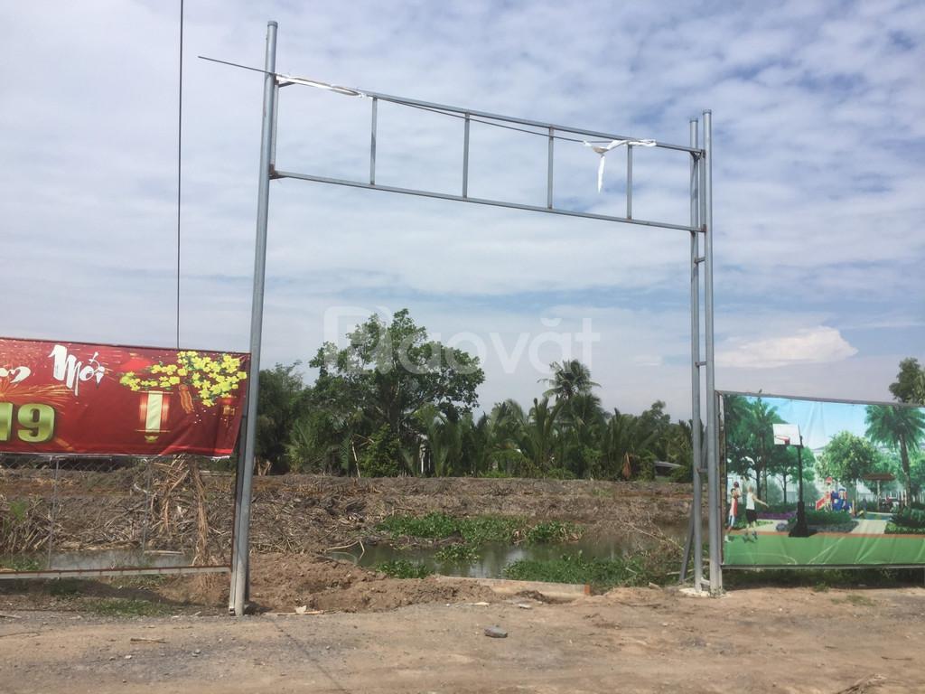 Đất nền khu tái định cư Mỹ Kim Long ngay cụm KCN Tân Trụ giá 6.5tr/m2