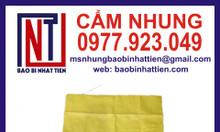 Bao PP dệt màu vàng xuất khẩu
