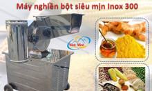 Máy nghiền bột khô mịn inox 300