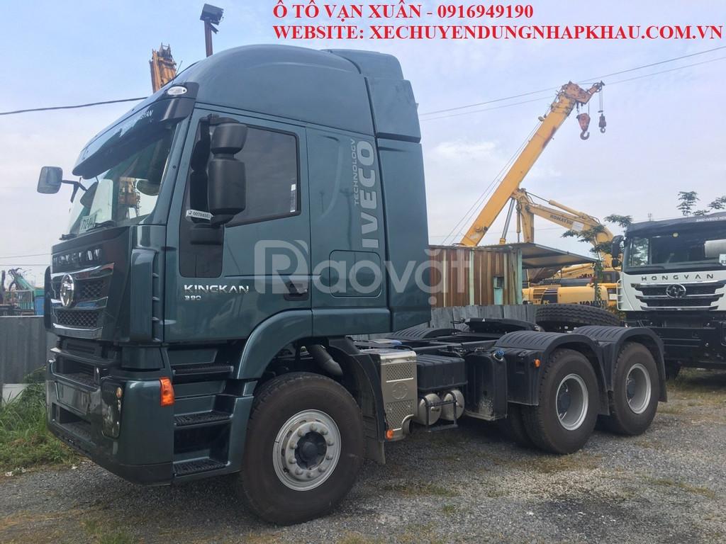 Xe đầu kéo Iveco Hongyan 390HP 2019