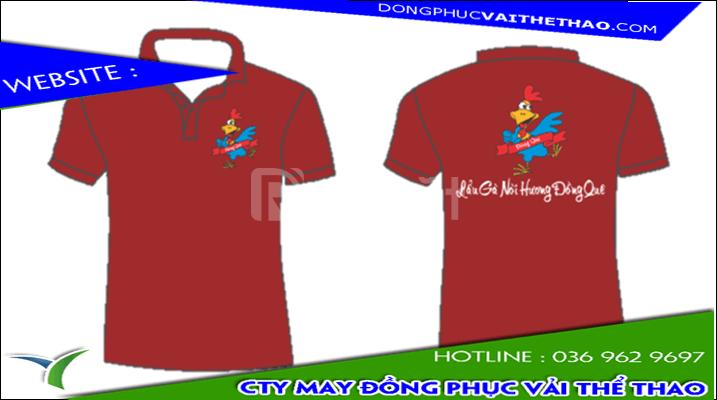 Cơ sở may mẫu áo thun đồng phục quán nhậu vải thun lạnh