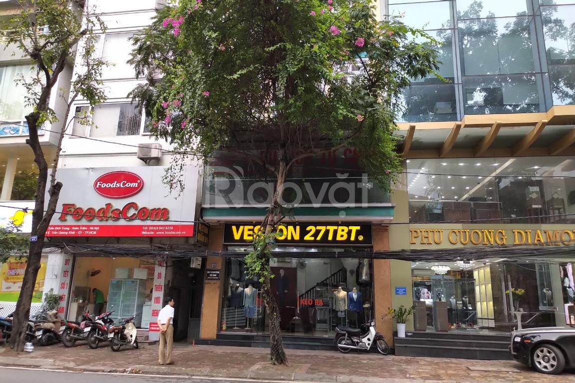 Bán nhà mặt phố Tạ Quang Bửu sát Bạch Mai DT 75m2x2T nở hậu giá 12.99 tỷ
