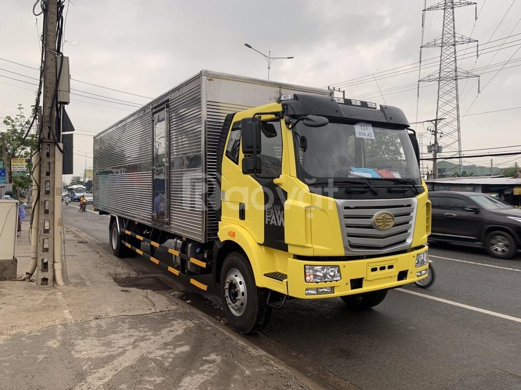 Nơi bán xe tải faw thùng dài 9.7 mét hỗ trợ trả góp