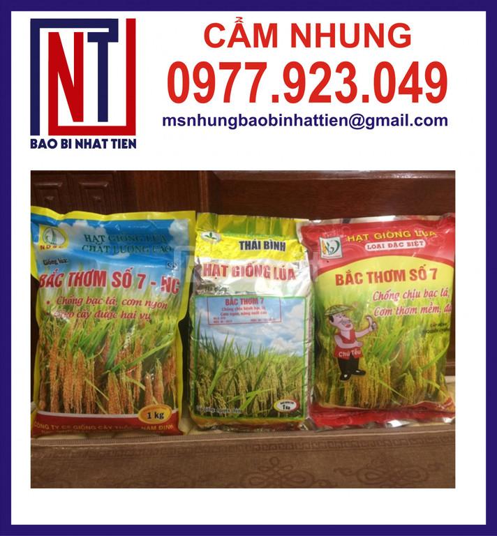 Cung cấp bao bì đựng lúa giống 1kg (ảnh 4)