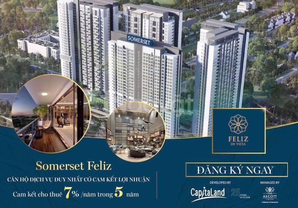 Mở bán 154 căn hộ Feliz en Vista, cam kết cho thuê 7%/năm trong 5 năm (ảnh 1)