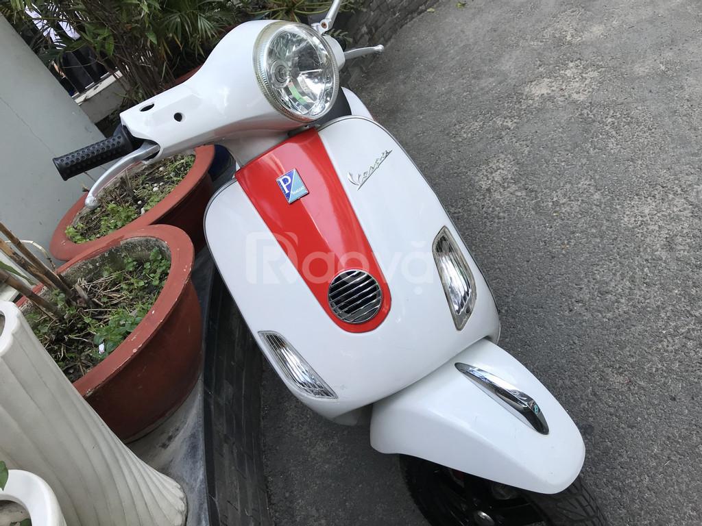 Piaggio Vespa LX 125 màu trắng chính chủ 1 đời 16 triệu