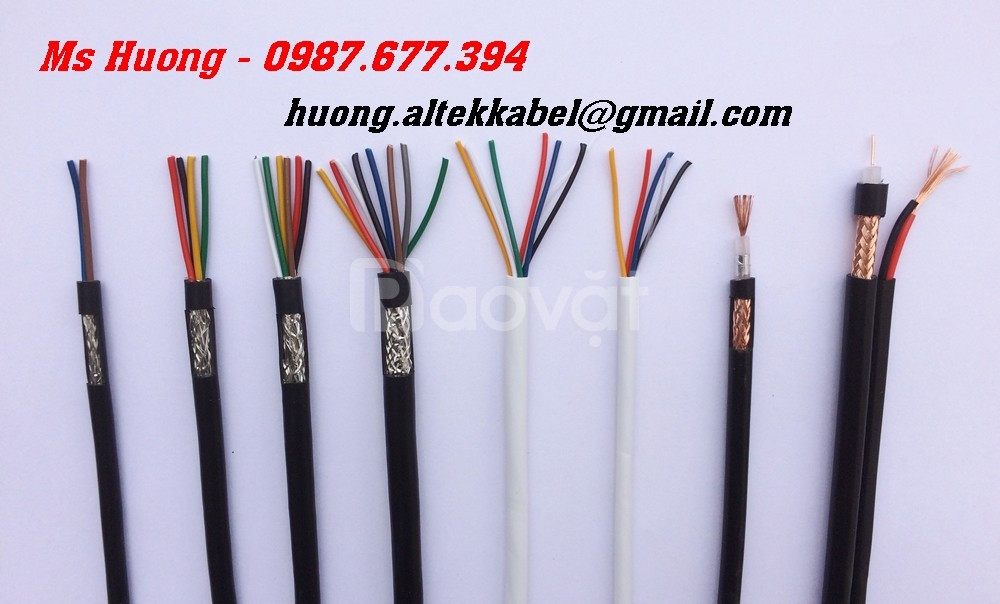 Twisted pair cable - cáp rs485 2pr 22awg, rs485 2 pair 24awg