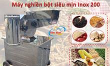 Máy nghiền bột khô mịn inox 200