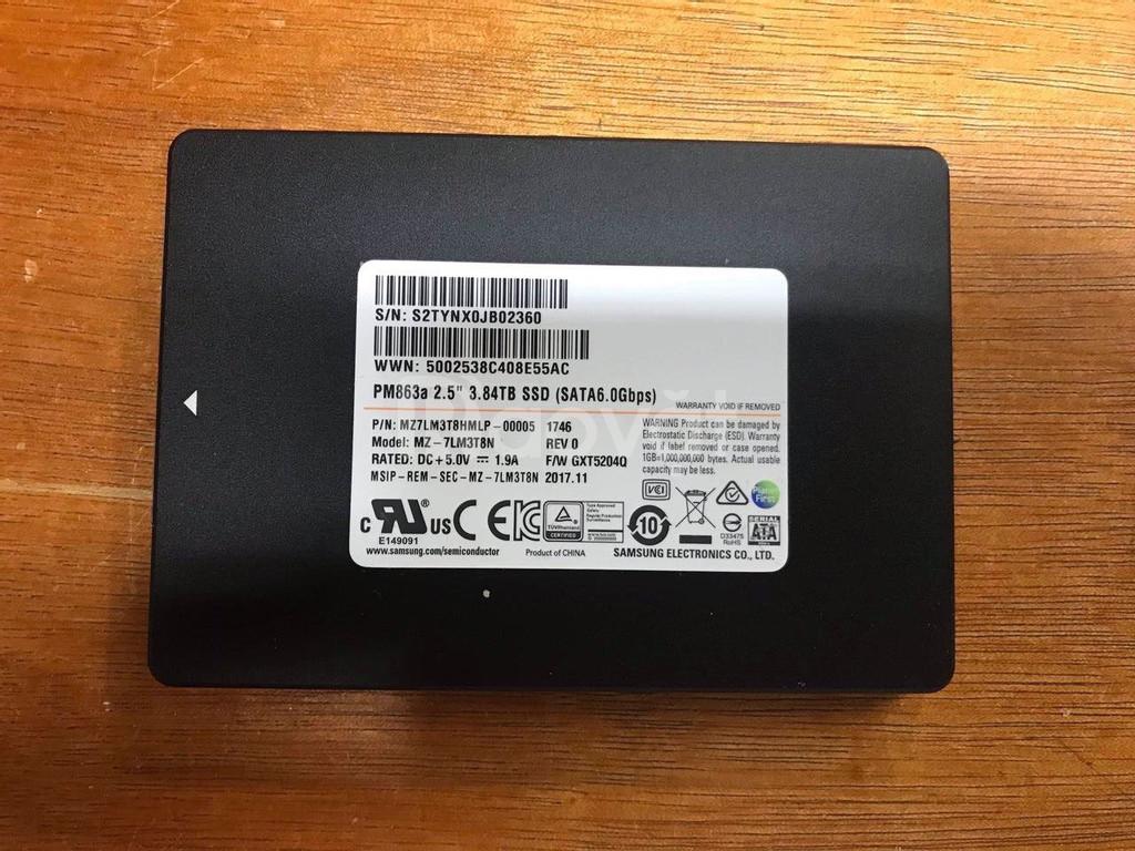 SSD Enterprise 3.84TB Samsung