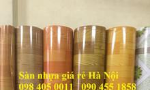 Sàn nhựa vân gỗ sáng màu giá rẻ