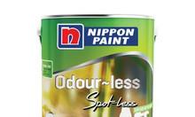 Sơn nội thất Nippon Odourless Spot_Less