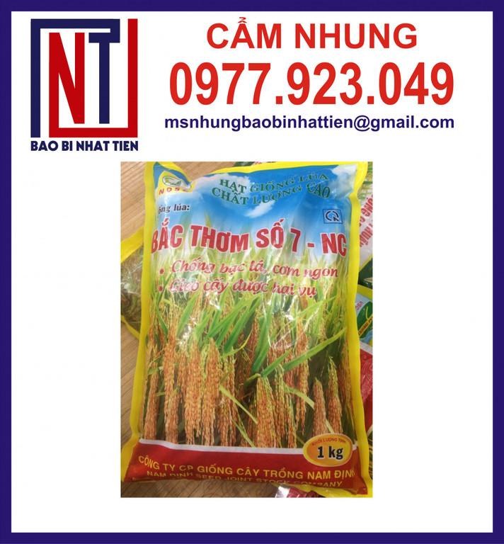 Cung cấp bao bì đựng lúa giống 1kg (ảnh 1)